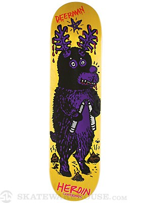 Heroin Deer Man Of Dark Woods SKGBRDS Deck  8.38x32.25