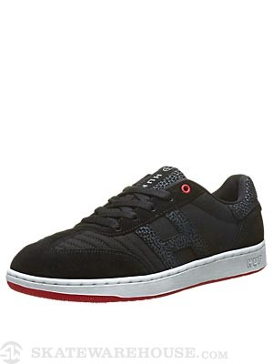 HUF Arena Shoes  Black/Red/Elephant