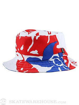 HUF Copacabana Bucket Hat White SM/MD