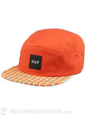 HUF Century Pattern Volley Hat Orange