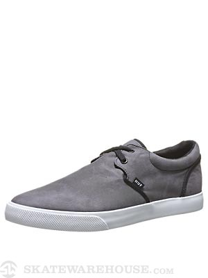 HUF Genuine Shoes  Black Crystal Wash