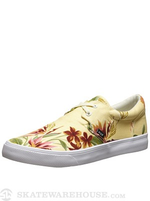 HUF Genuine Shoes  Ivory Floral