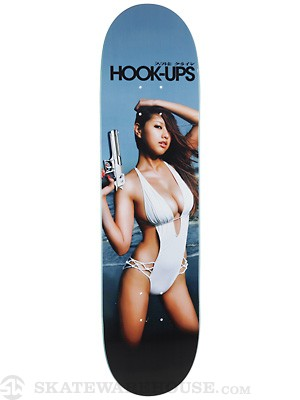Hook Ups Gun Fever Deck 8.0 x 31.75