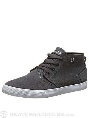 HUF Mercer Shoes  Distressed Black