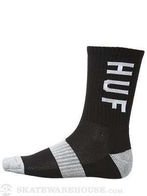 HUF Coolmax Original Logo Socks Black