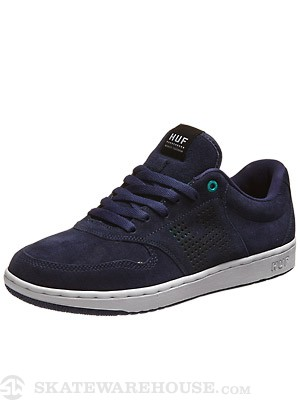 HUF Noble Shoes  Navy/Jade