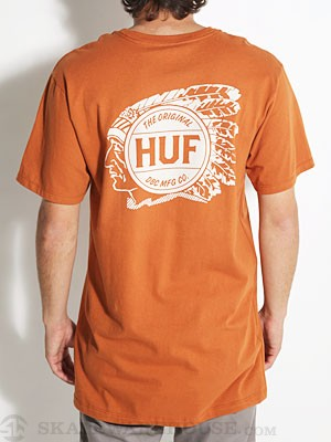HUF Native Tee Orange XL