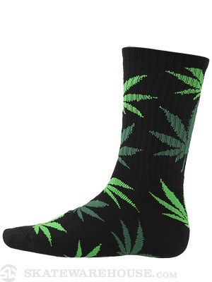 HUF Plant Life Socks Black/Green/Lt Grn