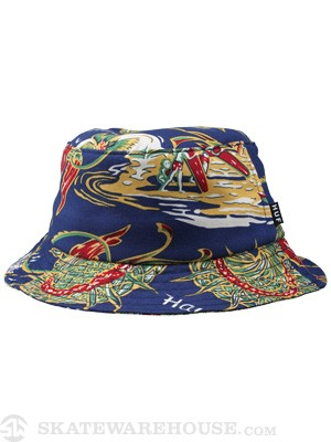 HUF Souvenir Bucket Hat Blue SM/MD