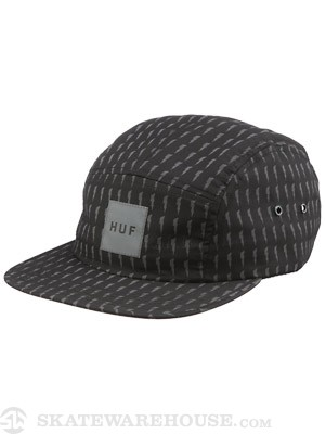 HUF Thunder Bolt Box Volley Black