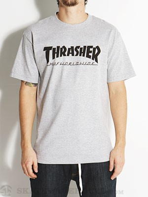 HUF x Thrasher Tour Tee Grey SM
