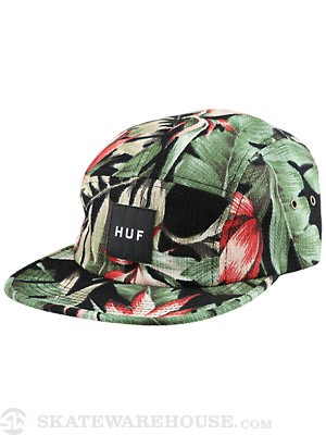 HUF Waikiki Volley Hat Black
