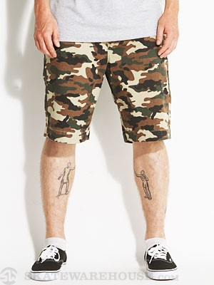 HUF Work Shorts Camo 30