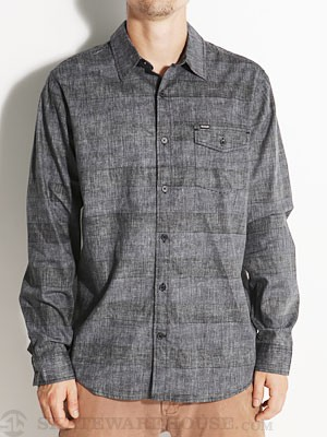 Hurley Adams L/S Woven Shirt Black MD