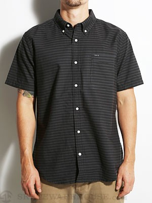 Hurley Ace Oxford Horizon S/S Woven Shirt Black S