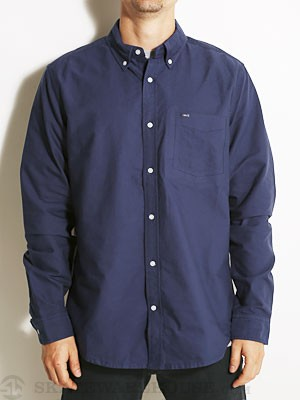 Hurley Ace Oxford L/S Woven Shirt Midnight SM