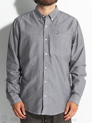 Hurley Ace Oxford L/S Woven Black LG