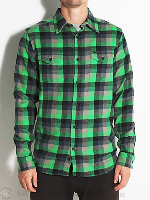 Hurley Apollo Flannel Grey/Green/ELGM MD