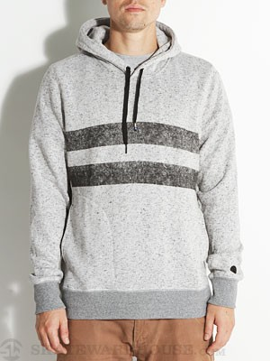 Hurley Block Party Retreat Hoodie Hther White MD