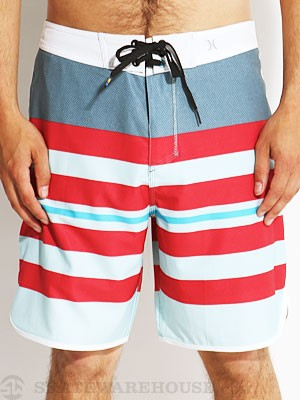 P60 Block Party Warp Boardshorts Lt. Blue 30
