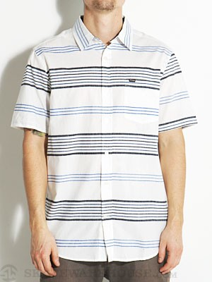 Hurley Cole S/S Woven Shirt Blue MD