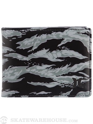 Hurley Honor Roll Bi-Fold Wallet Black/Camo