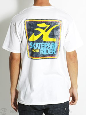 Hurley Hobie Skatepark Regular Tee White MD