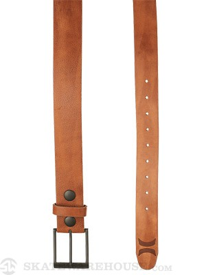 Hurley Icon Leather Belt Brown Adj.