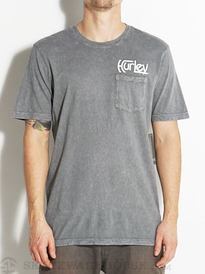 Hurley Original Pocket Tee Dark Grey LG