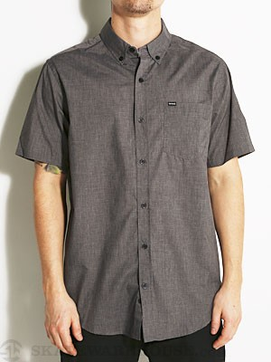 Hurley One & Only S/S Woven Shirt Black LG
