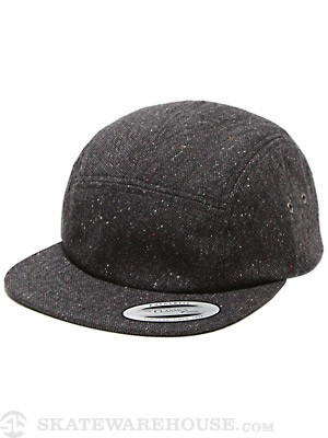 Hurley Riviera 5 Panel Hat Black Adj.
