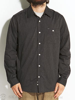 Hurley Rise Solid L/S Woven Shirt Black XL