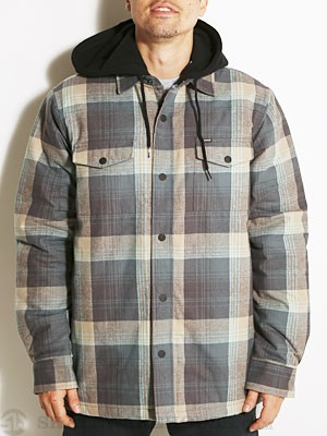 Hurley Ronin L/S Quilted Flannel Medium Ash SM