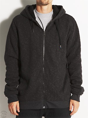 Hurley Retreat Sherpa Hoodzip Heather Black MD