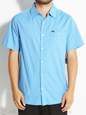 Hurley Rise Solid S/S Woven Shirt Light Blue SM