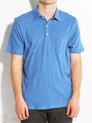 Hurley Cork Polo Blue/PCB XL
