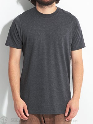 Hurley Staple Premium Tee Heather Black/HBK XL