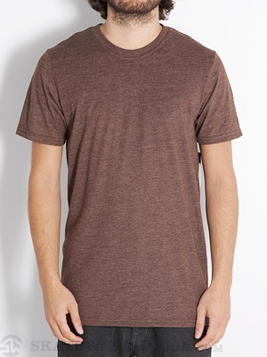Hurley Staple Premium Tee Heather Brown/HBR SM