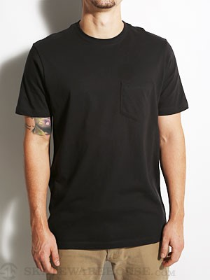Hurley Staple Pocket Tee Black SM