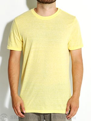 Hurley Staple Tri-Blend Tee Heather Yellow XL