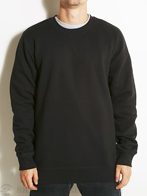 Hurley Staple Crew Sweatshirt Black SM