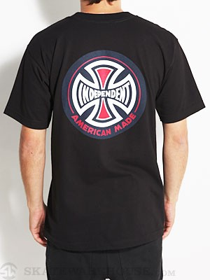 Independent Ami Logo Tee Black SM
