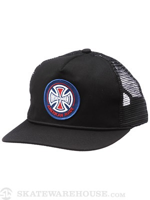 Independent AMI Patch Mesh Hat Black Adjust