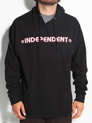Independent Bar/Cross Hoodie Black SM