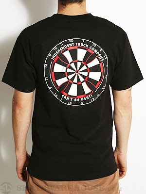 Independent Bullseye Tee Black SM
