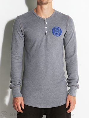 Independent BTG Ring Thermal Henley Navy SM