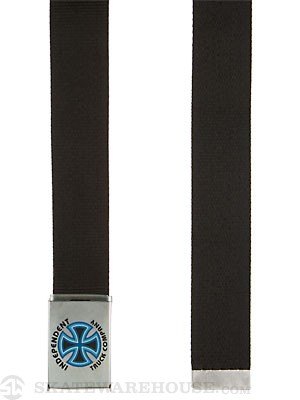 Independent Bauhaus Web Belt Black Adjustable