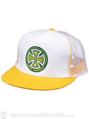 Independent Truck Co Birth Mesh Hat Wht/Yellow