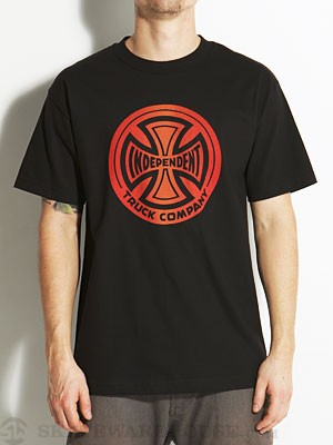 Independent Fountain T/C Tee Black SM