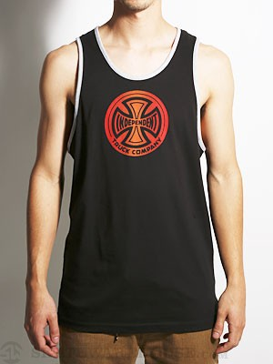 Independent Fountain T/C Tank Top Black MD